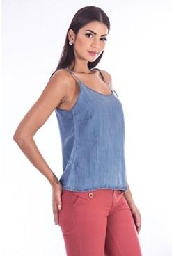 Blusa Regata Jeans