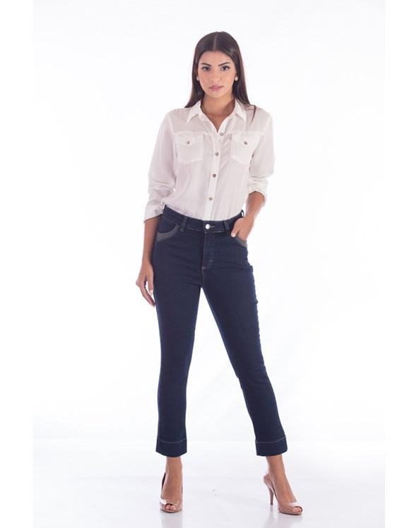 Calça Capri Jeans