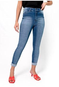 Calça Capri Jeans Basic Azul