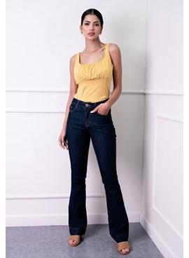 Calça Jeans Boot Cut Básica