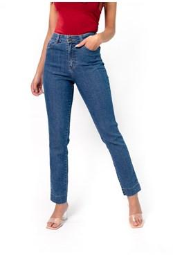 Calça Jeans Reta Azul Básica