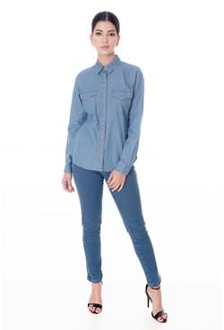 Camisa Jeans Tradicional