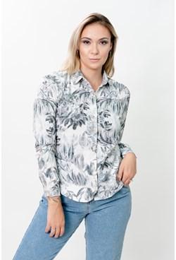 Camisa Manga Longa Floral