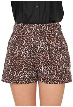Shorts Boyfriend Animal Print