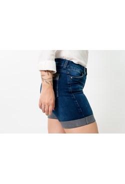 Shorts Jeans Barra Virada