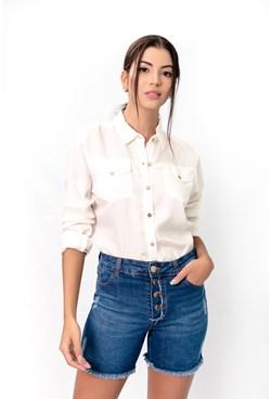 Shorts Jeans c/ Botões