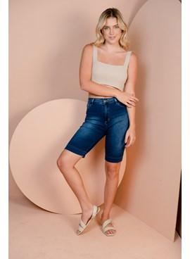 Shorts Jeans Ciclista Básico