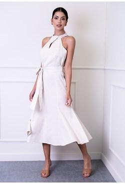 Vestido Midi Linho